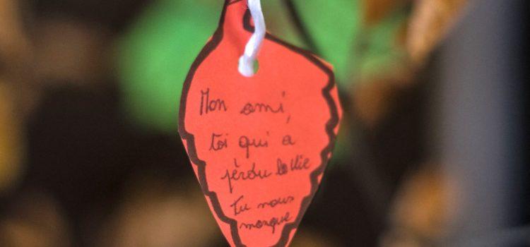 Hommage aux morts de la rue à Liège – 2018