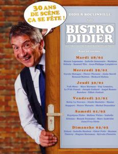 Didier Boclinville, 30 ans de scène